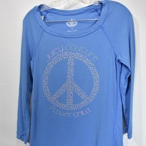 Women'sJuicy Couture Graphic Tee M (F74)